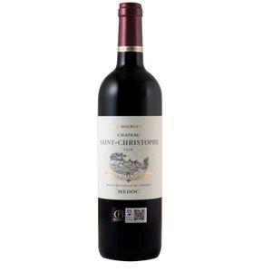 VIN ROUGE Château Saint-Christophe 2014 Médoc - Vin rouge de