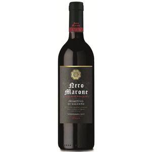 VIN ROUGE NERO MARONE Salentino Primitivo Vin d'Italie - Rou