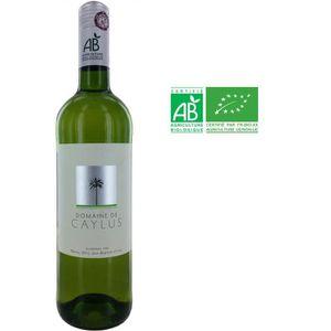 VIN BLANC Domaine Caylus 2017 Pays d'Hérault - Vin blanc du