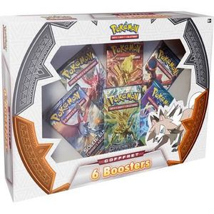 CARTE A COLLECTIONNER POKEMON - Coffret Pokémon - 6 boosters  (60 cartes