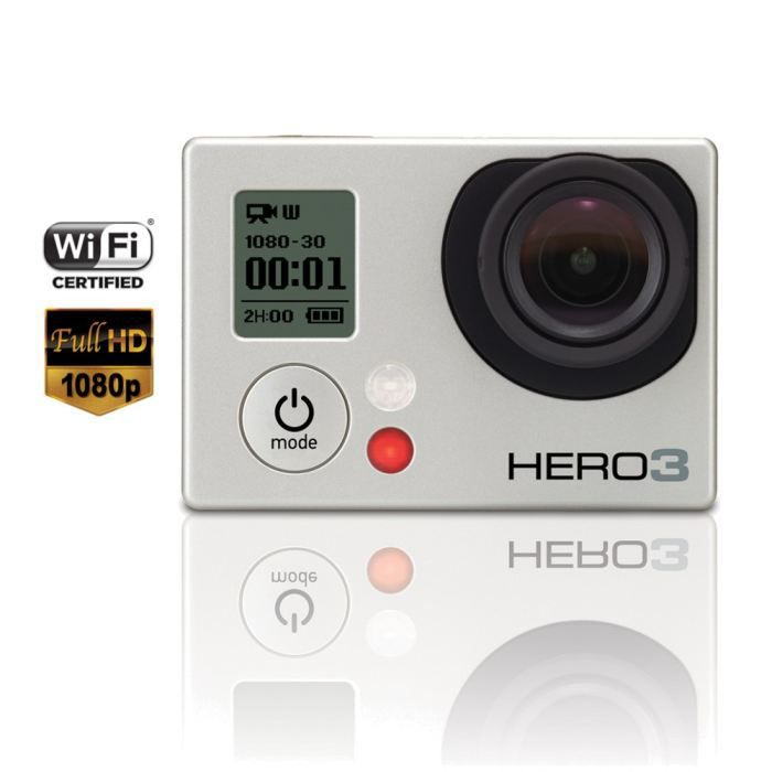 photo numerique camescopes gopro hero  silver edition f goproheros