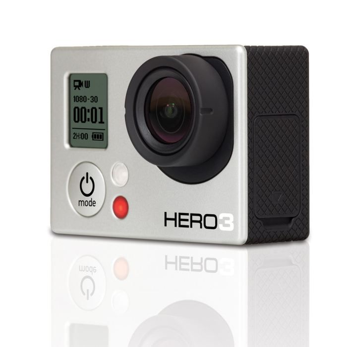 go pro hero 3 white edition achat vente cam ra. Black Bedroom Furniture Sets. Home Design Ideas