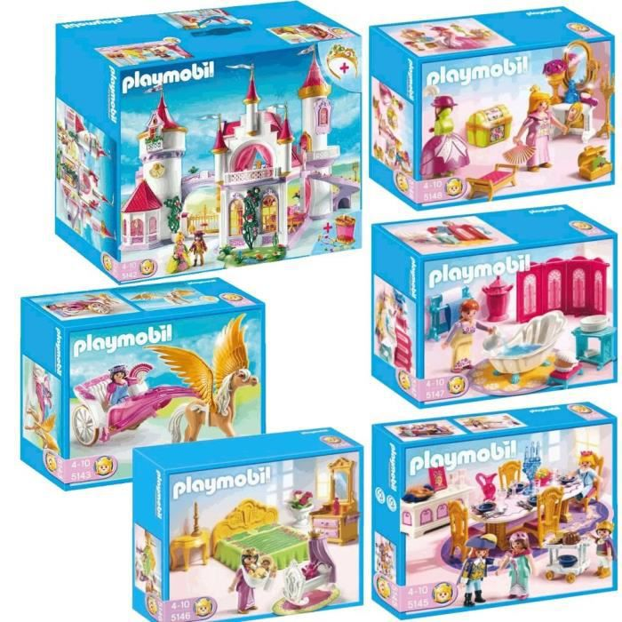 Agreable PLAYMOBIL Pack Complet Princesses