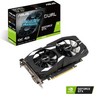CARTE GRAPHIQUE INTERNE ASUS Carte graphique GeForce GTX 1650 4 Go DUAL OC