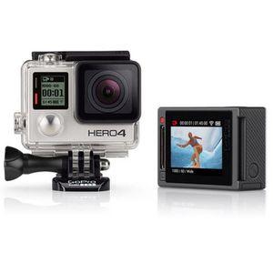 CAMÉRA SPORT GoPro HERO4 Silver Caméra sport Full HD - Ecran ta