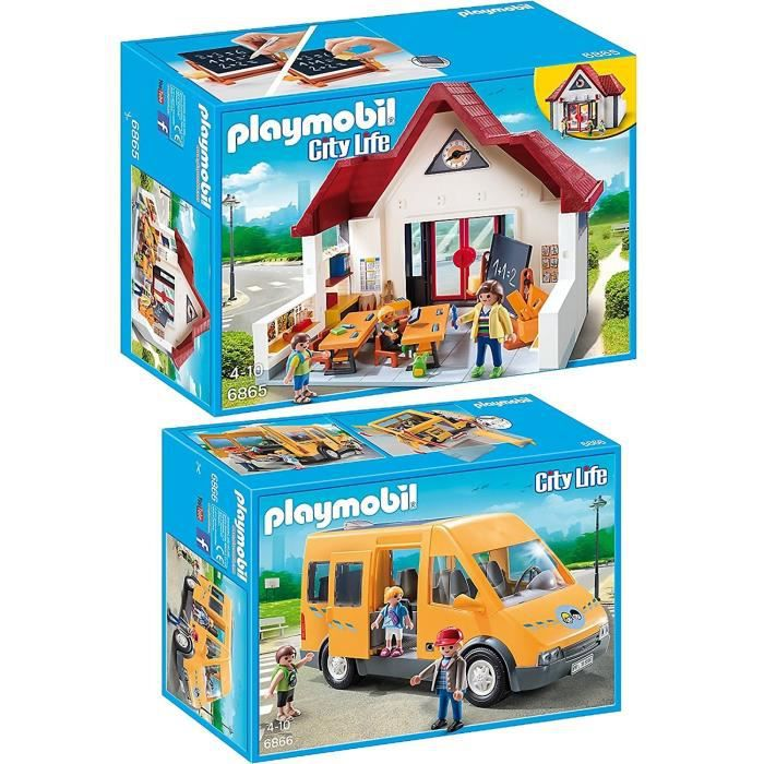 playmobil ecole achat vente jeux et jouets pas chers. Black Bedroom Furniture Sets. Home Design Ideas