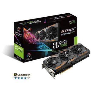CARTE GRAPHIQUE INTERNE Asus Carte graphique GeForce® GTX 1060 STRIX O6G G