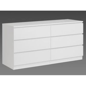 Commode blanche 6 tiroirs achat vente commode blanche 6 tiroirs pas cher - Commode 6 tiroirs blanche ...
