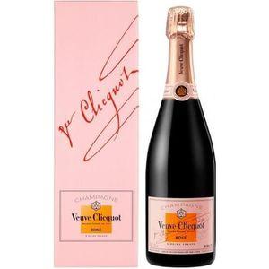 CHAMPAGNE Veuve Clicquot Rosé - 12,5%vol - 75cl - Etui