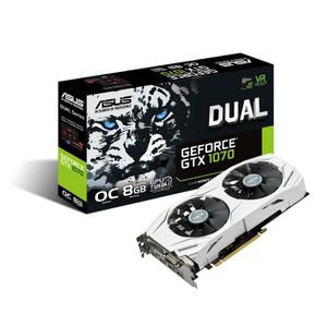 CARTE GRAPHIQUE INTERNE ASUS Carte graphique NVIDIA GeForce® GTX 1070 DUAL