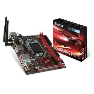 CARTE MÈRE MSI Carte mère B250I GAMING PRO AC - Socket LGA 11