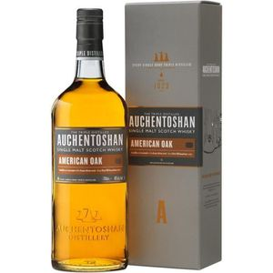 WHISKY BOURBON SCOTCH Auchentoshan American Oak 70cl