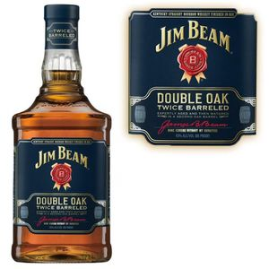 WHISKY BOURBON SCOTCH Jim Beam Double Oak 43 70cl