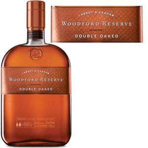 WHISKY BOURBON SCOTCH Woodford Reserve double oaked 43.2° 70cl
