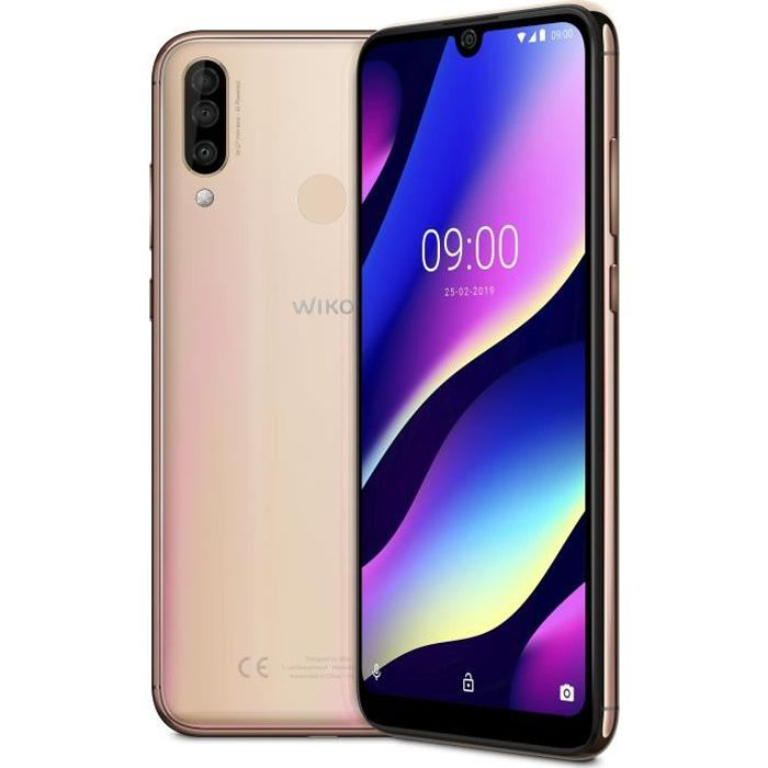 SMARTPHONE WIKO View 3  Blush Gold 64 Go