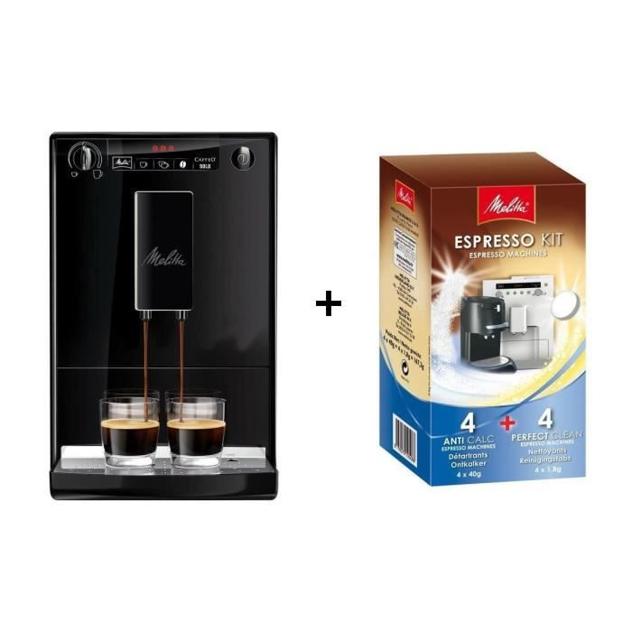 pack melitta machine expresso caffeo solo e950 kit de. Black Bedroom Furniture Sets. Home Design Ideas