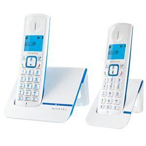 Téléphone fixe Alcatel Versatis F230 Duo Téléphone Sans Fil Sans