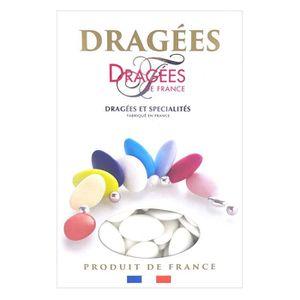 DRAGÉES DRAGEES DE FRANCE Dragées aux Chocolats - Blanc -