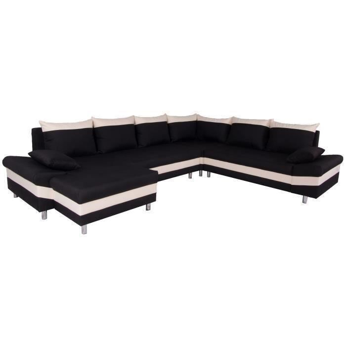 pegase canap d 39 angle panoramique convertible 6p achat vente canap sofa divan structure. Black Bedroom Furniture Sets. Home Design Ideas