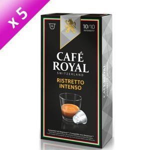CAFÉ 50 capsules CAFÉ ROYAL de café Ristretto Intenso 1