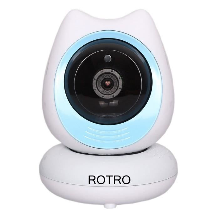 rotro babycam cam ra de surveillance ip int rieur wi fi c8 achat vente cam ra ip cdiscount. Black Bedroom Furniture Sets. Home Design Ideas