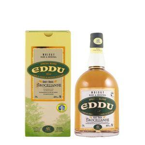 WHISKY BOURBON SCOTCH Eddu Grey Rock Brocéliande - Blended Whisky France