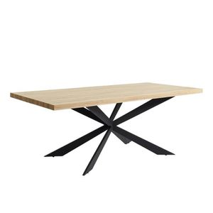 TABLE À MANGER SEULE CHARLIE Table à manger de 8 à 10 personnes style i