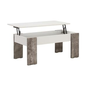 Table basse transformable achat vente pas cher cdiscount for Table basse relevable pas chere