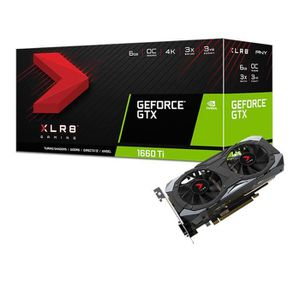 CARTE GRAPHIQUE INTERNE PNY Carte graphique GeForce GTX 1660 TI 6 Go XLR8