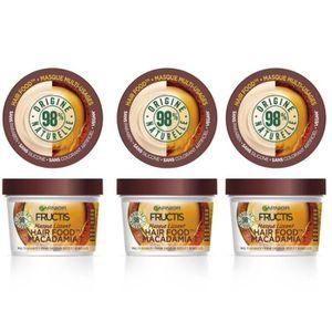 MASQUE SOIN CAPILLAIRE GARNIER Fructis Masque Lissant Hair Food Macadamia