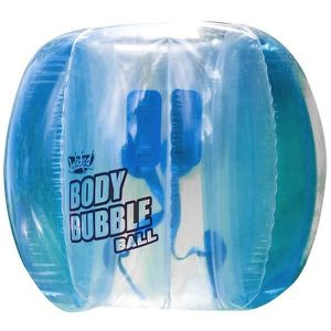 JEU D'ADRESSE WICKED - Body Bubble Ball - Bleu - Bubble gonflabl