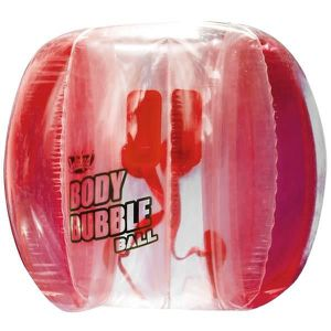 JEU D'ADRESSE WICKED - Body Bubble Ball - Rouge - Bubble gonflab