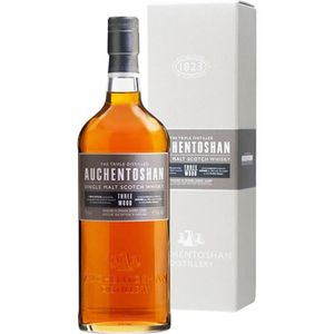 WHISKY BOURBON SCOTCH Auchentoshan 3 three woods 43° 70cl