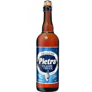 BIÈRE Pietra Brassin d'Hiver Bière de Noël - 75 cl