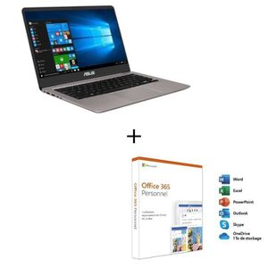 ORDINATEUR PORTABLE Ordinateur Ultrabook - ASUS ZenBook UX410UA-GV354T