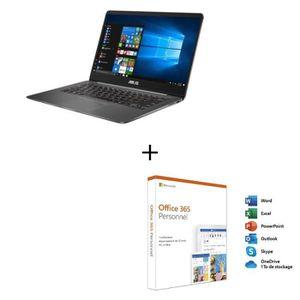 ORDINATEUR PORTABLE Ordinateur Ultrabook - ASUS ZenBook UX430UA-GV595T