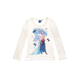 T-SHIRT LA REINE DES NEIGES T-shirt - Enfant fille - Beige