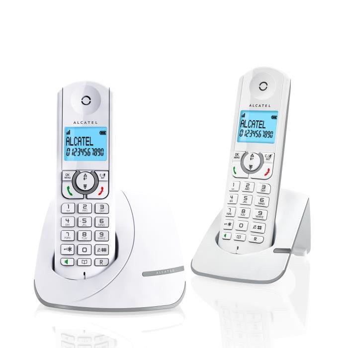 alcatel f390 duo sans r pondeur gris achat t l phone. Black Bedroom Furniture Sets. Home Design Ideas