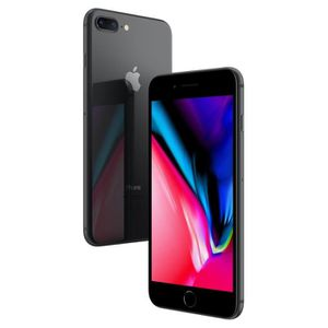 SMARTPHONE APPLE iPhone 8 plus gris sidéral 64Go