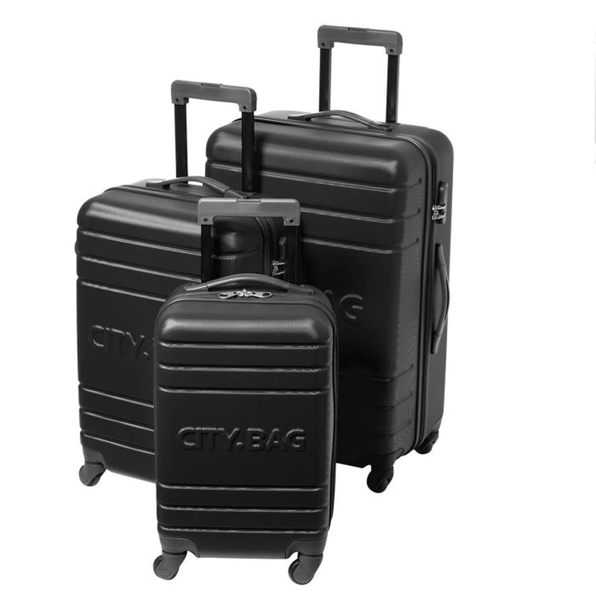 SET DE VALISES CITY BAG Set de 3 valises trolley CHICAGO