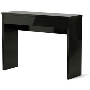 console noir laque achat vente console noir laque pas. Black Bedroom Furniture Sets. Home Design Ideas
