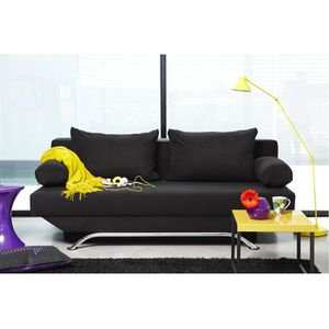 BZ - CLIC-CLAC - SOFA  Banquette BOSTON Convertible - Noir