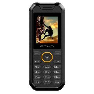 Téléphone portable Echo Mobile Shock étanche et anti choc Noir