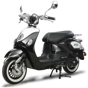 SCOOTER EUROCKA Scooter Fifty 50cc³ 4T Noir