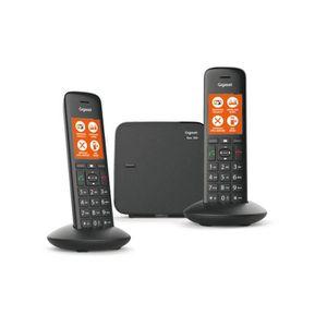 Téléphone fixe GIGASET C570 Duo Noir