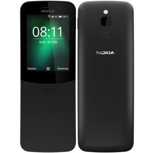 Téléphone portable NOKIA 8110 4G Noir