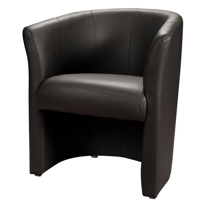 fauteuil cabriolet simili cuir pas cher. Black Bedroom Furniture Sets. Home Design Ideas