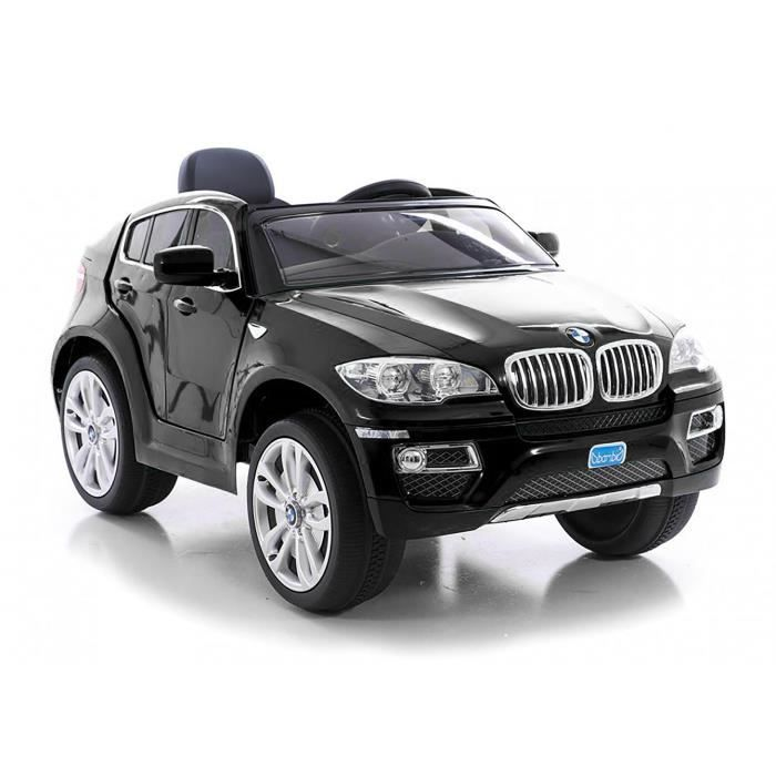bmw x6 voiture lectrique enfant noir achat vente. Black Bedroom Furniture Sets. Home Design Ideas