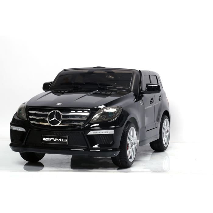 mercedes ml63 voiture lectrique enfant noir achat. Black Bedroom Furniture Sets. Home Design Ideas