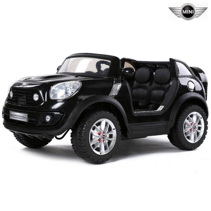 mini beachcomber voiture electrique pour enfant 12v noir. Black Bedroom Furniture Sets. Home Design Ideas